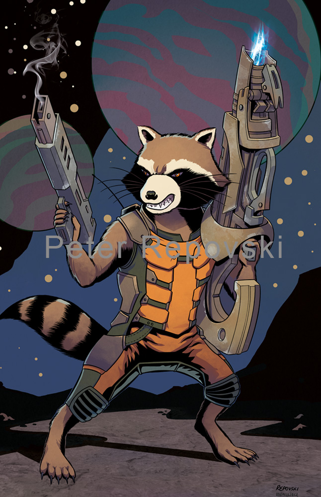 Peter Repovski - Rocket Raccoon