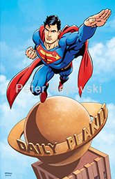 Peter Repovski - Superman Daily Planet